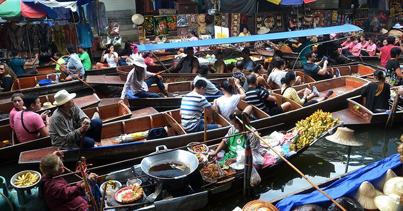 bangkok pijaca na vodi