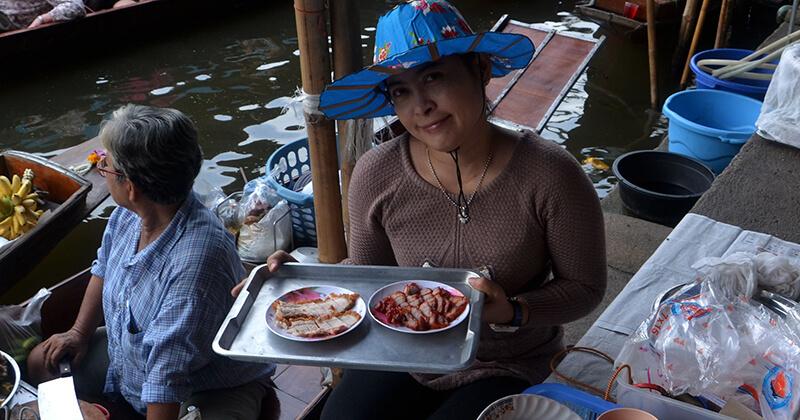 bangkok putovanje street food