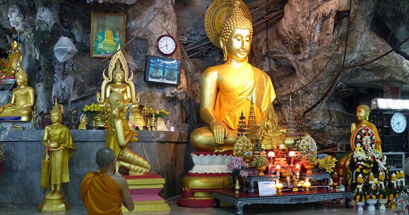 krabi tajland hram