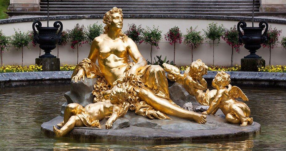 linderhof skulptura