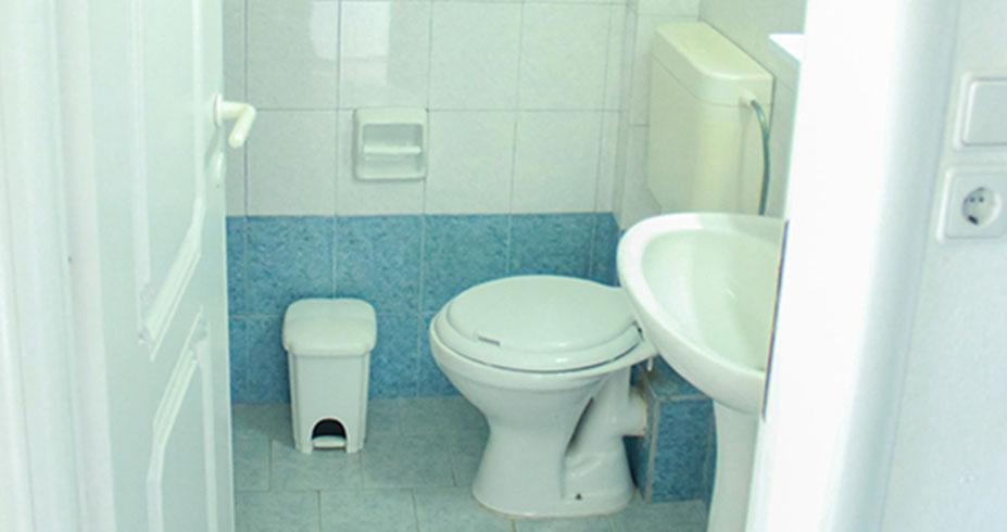 Kuća Magda Kalamitsi sitonija apartmani kupatilo