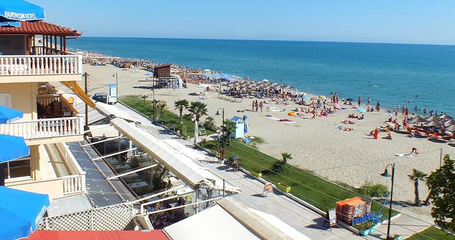 Grcka leto Olimpic beach Pantheon beach 4