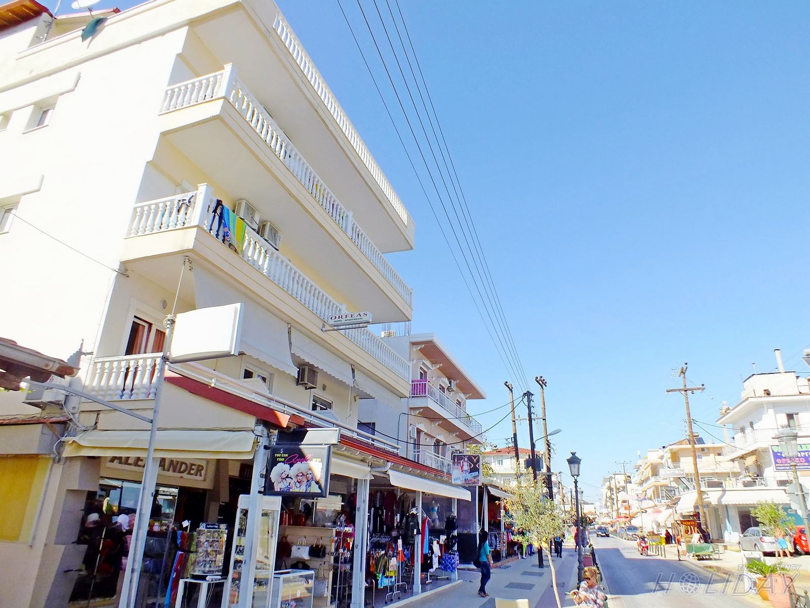 Orfeas glavna ulica
