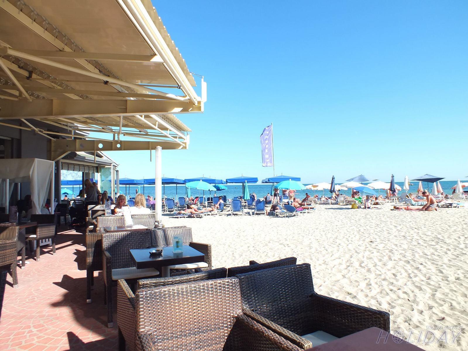 Orfeas plaža preko puta vile
